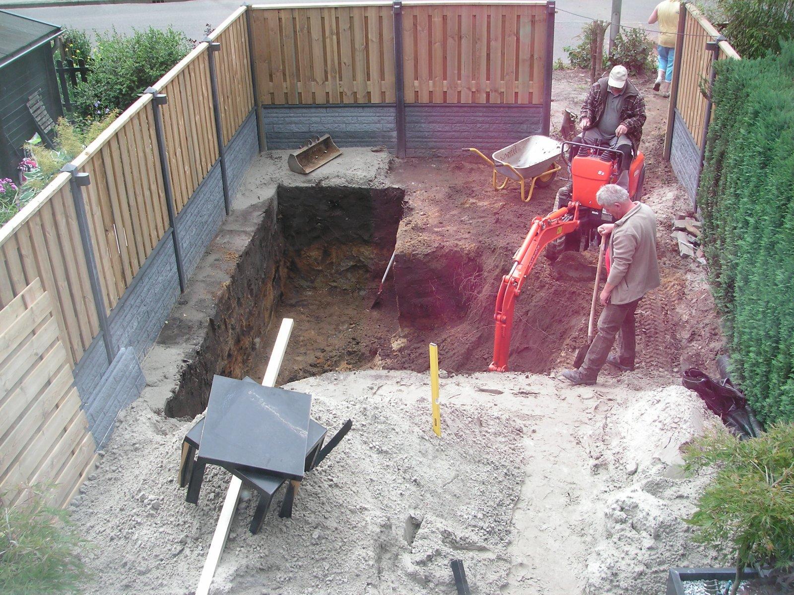 Aanleg tuin en de koi vijver for Koivijver aanleggen tips